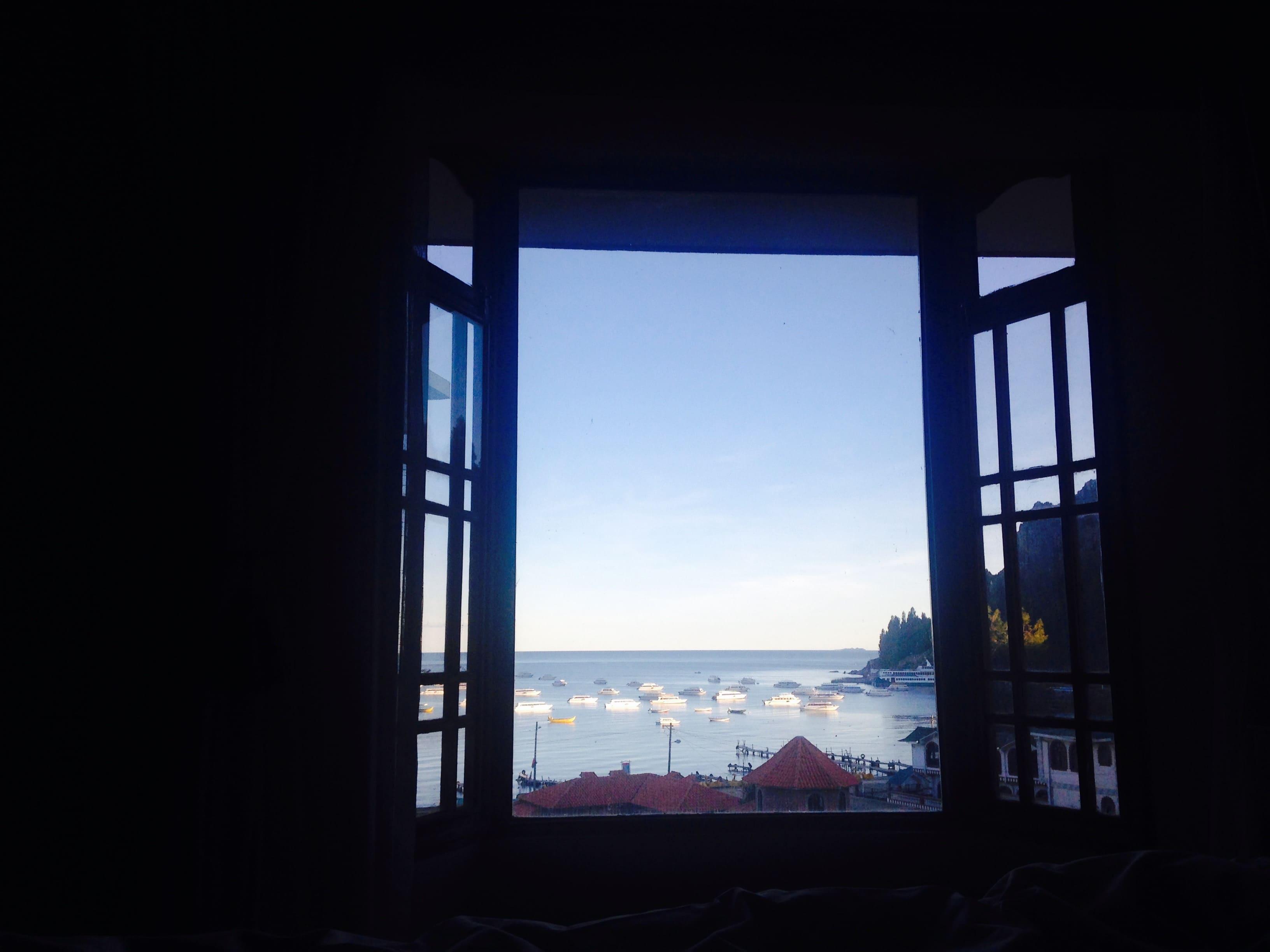 copacabana-bolivie-hotel-rosario-titicaca-vue