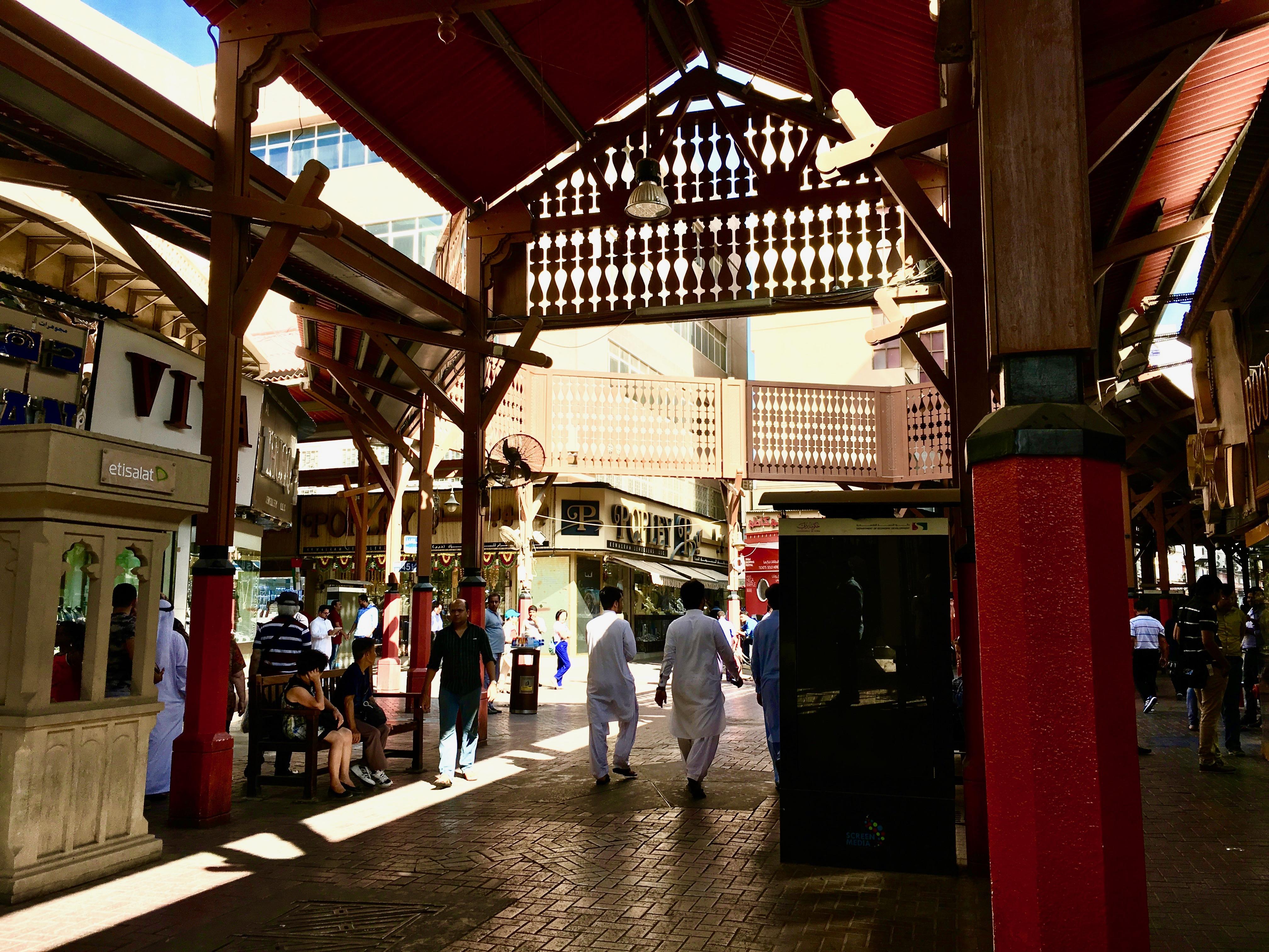 mes vacances a dubai gold souk