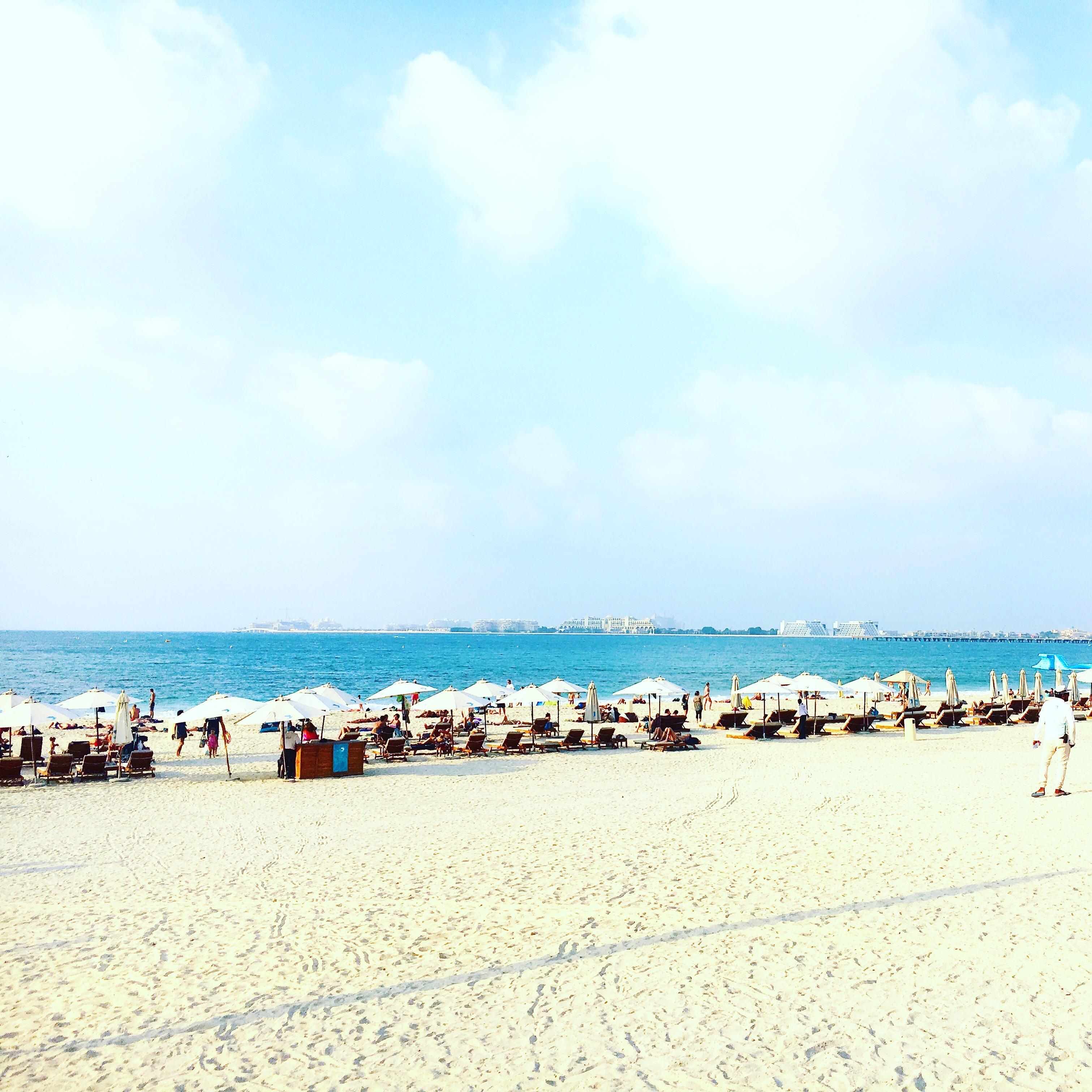 mes vacances a dubai jumeirah beach