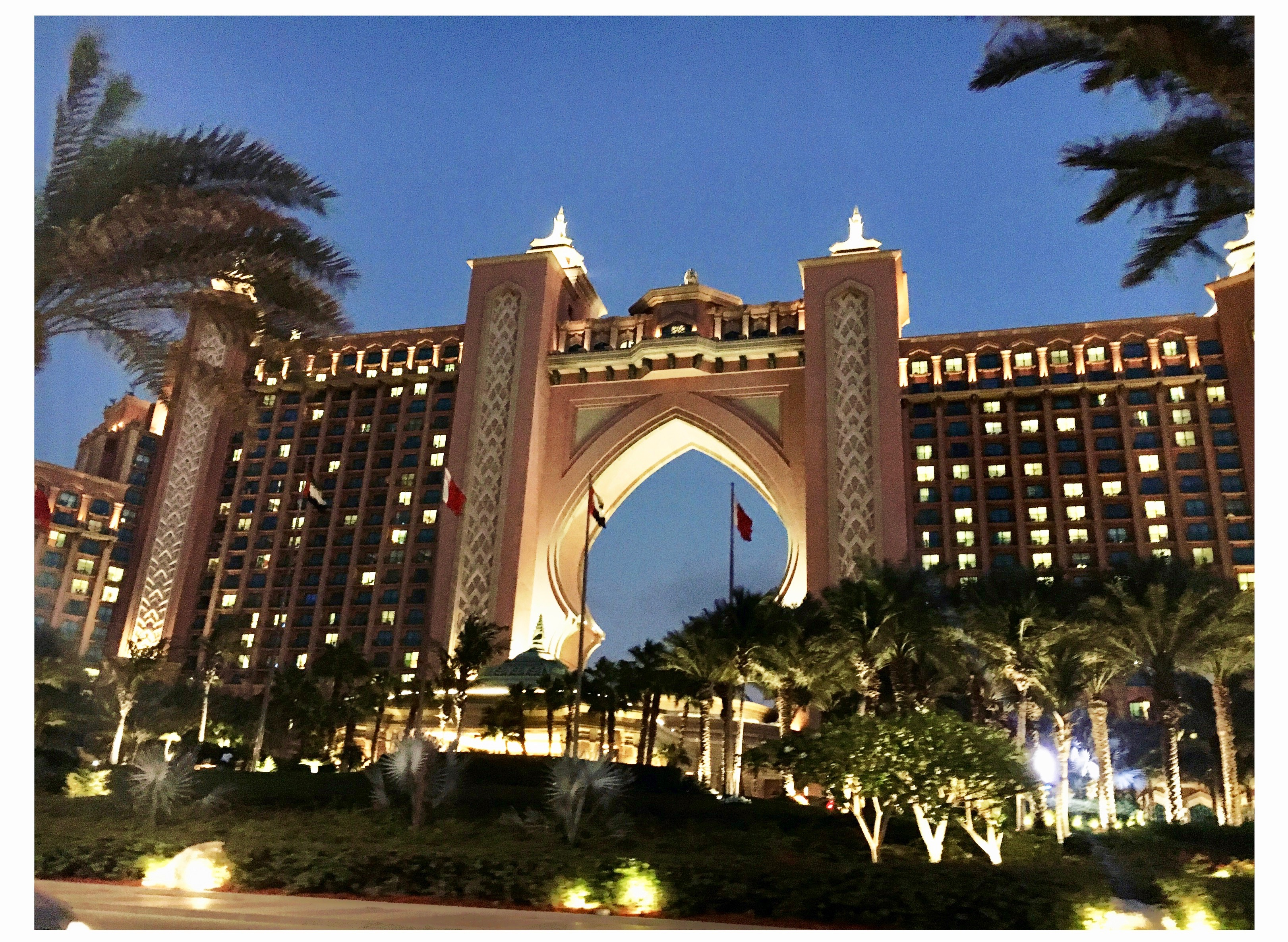 mes vacances a dubai atlantis the palm