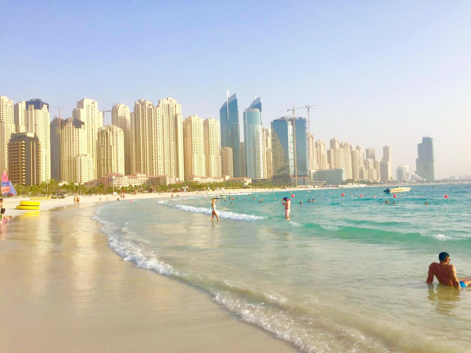 mes vacances dubai jumeirah beach