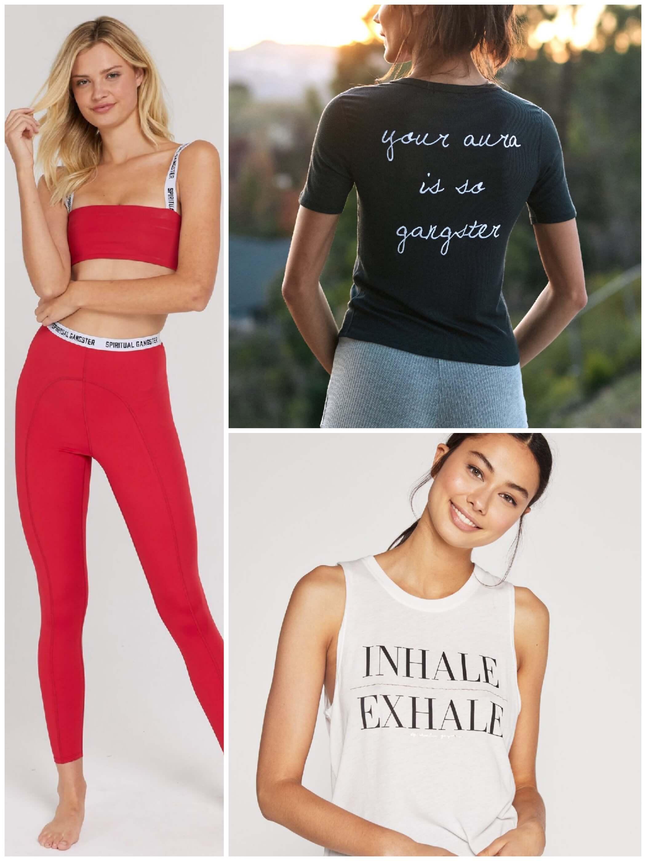 marques vêtements yoga