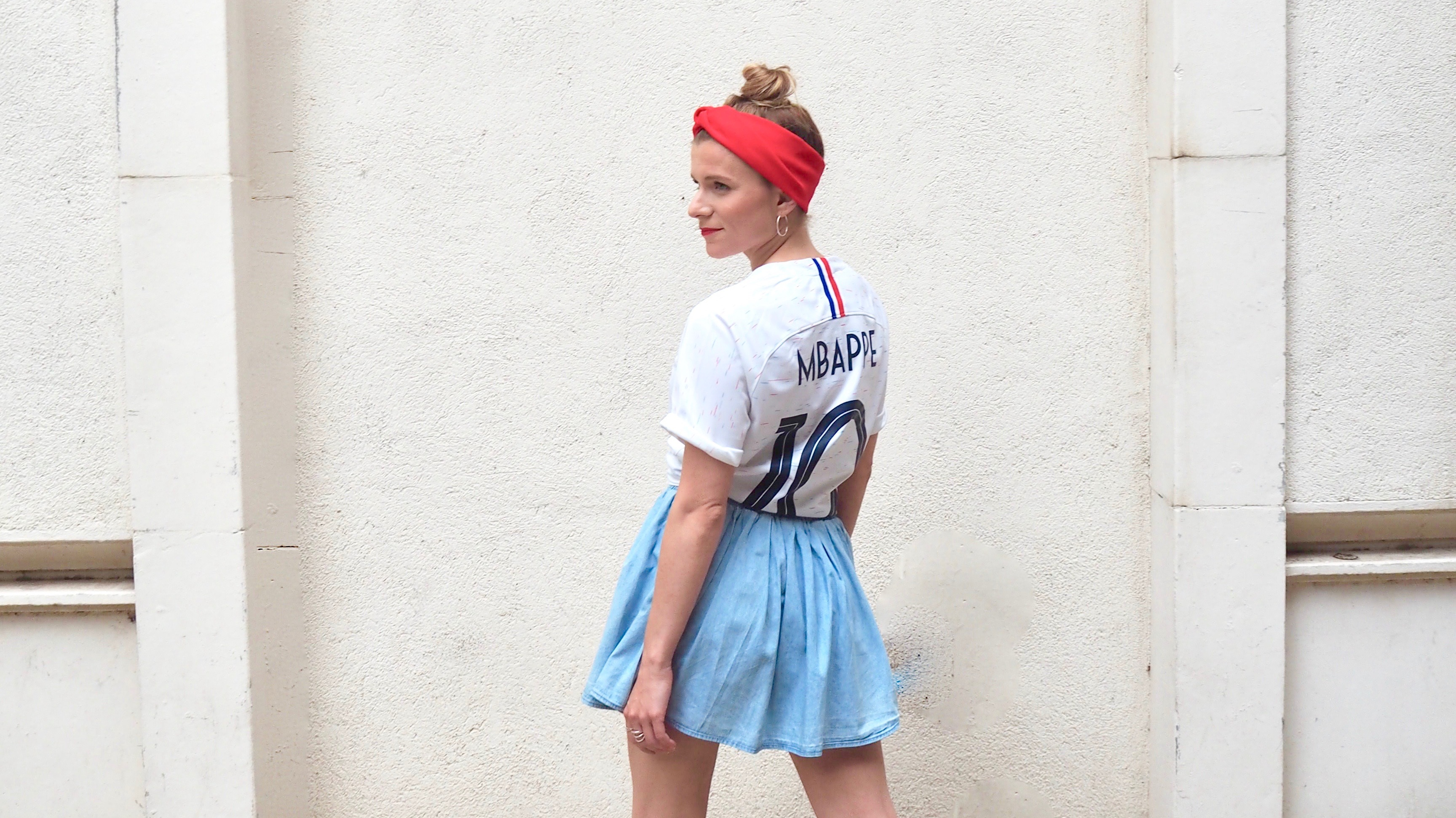 porter un maillot de foot