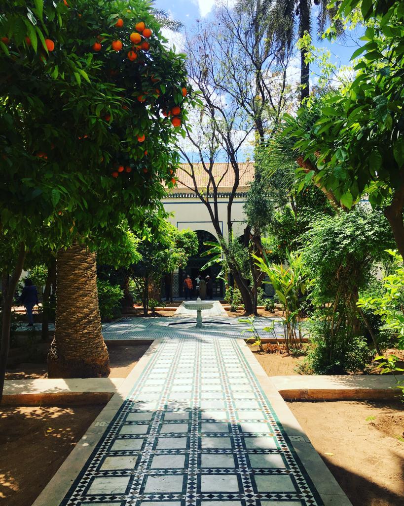 visiter marrakech en 3 jours palais bahia