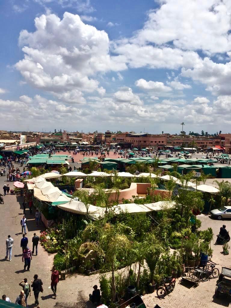 visiter marrakech en 3 jours place jemaa el fna