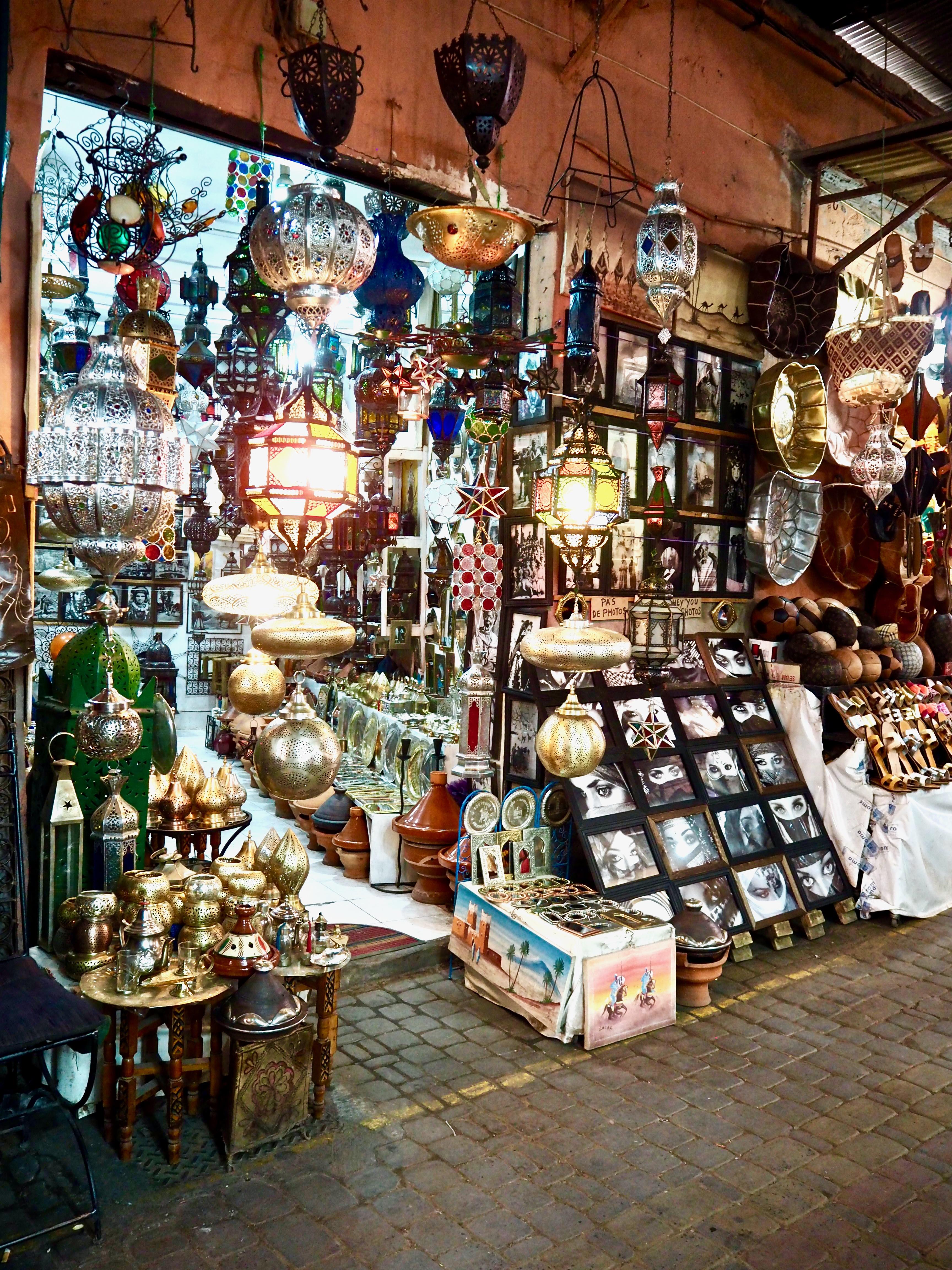 visiter marrakech en 3 jours souk