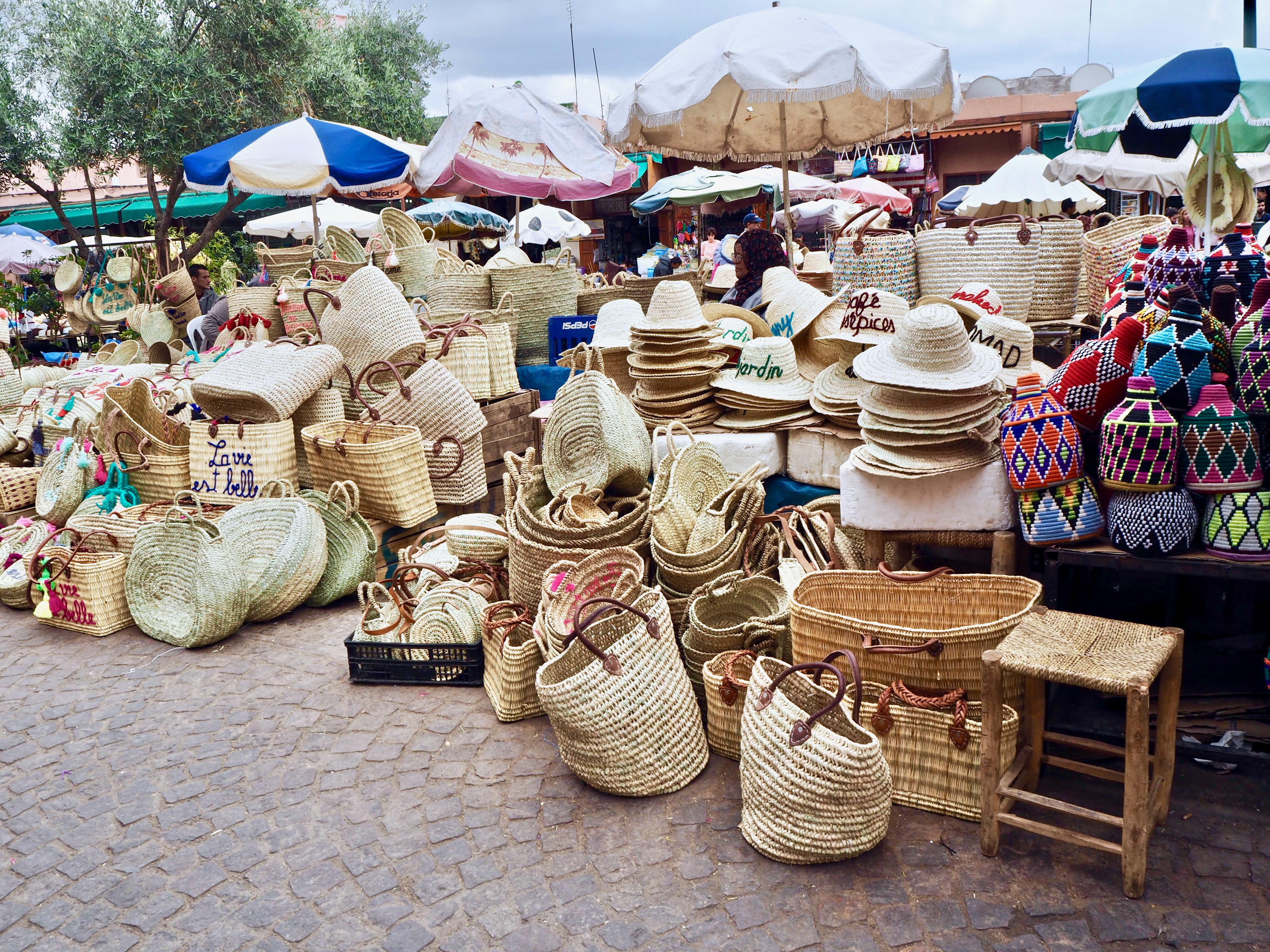 visiter marrakech en 3 jours souk des épices