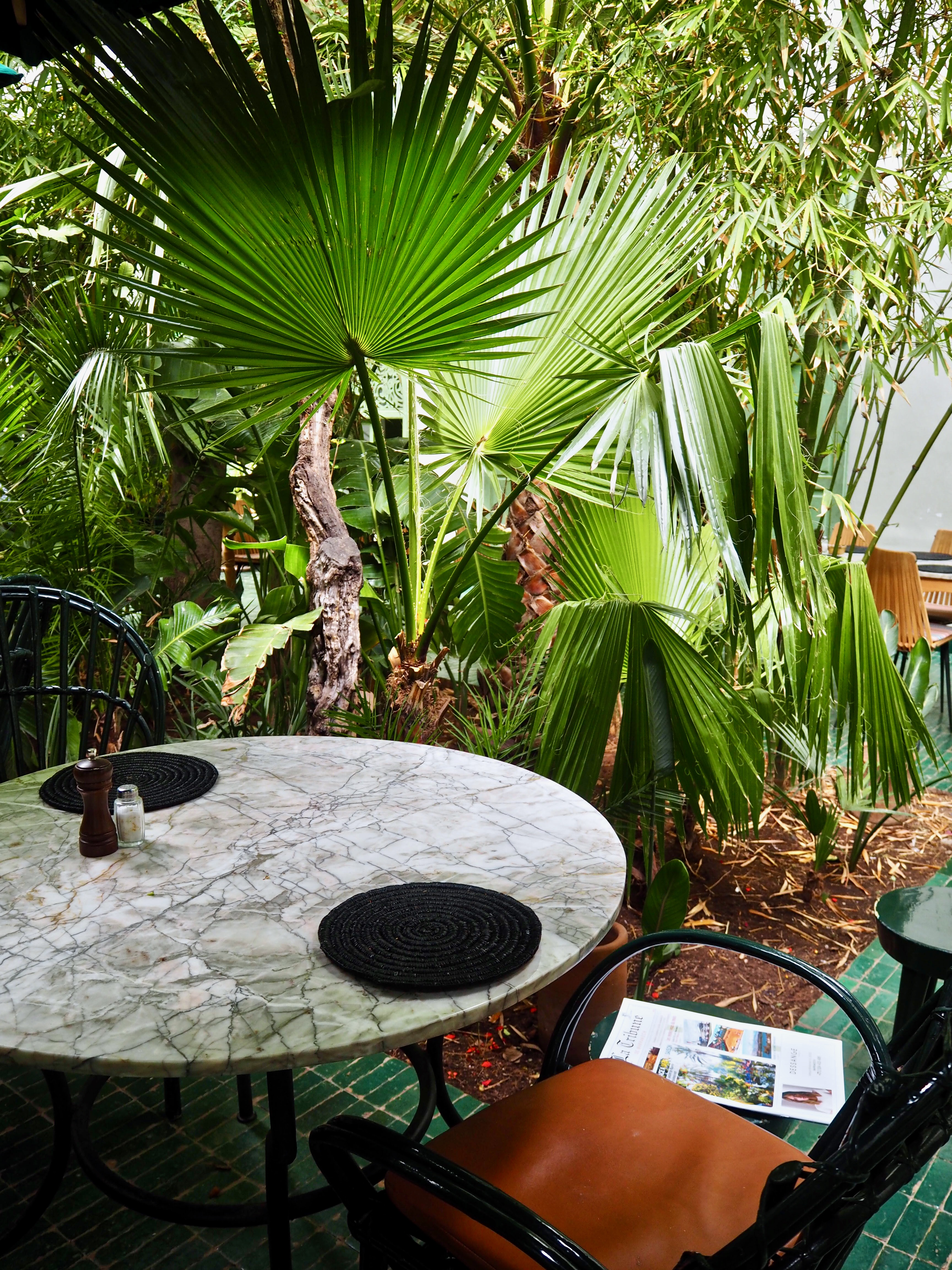 Restaurant le jardin Marrakech