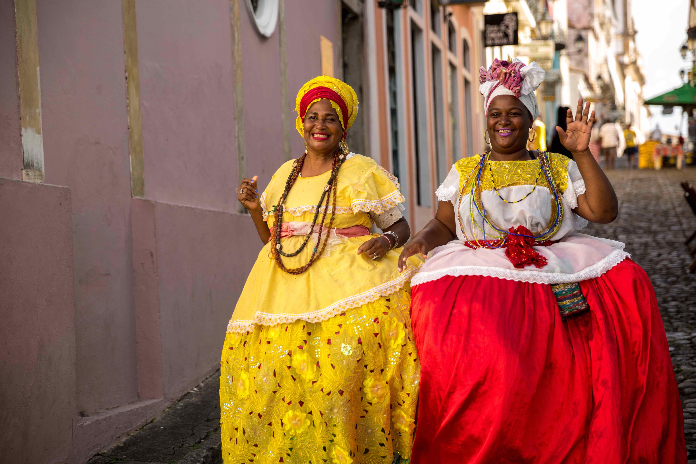 visiter Salvador de bahia tenues traditionnelles