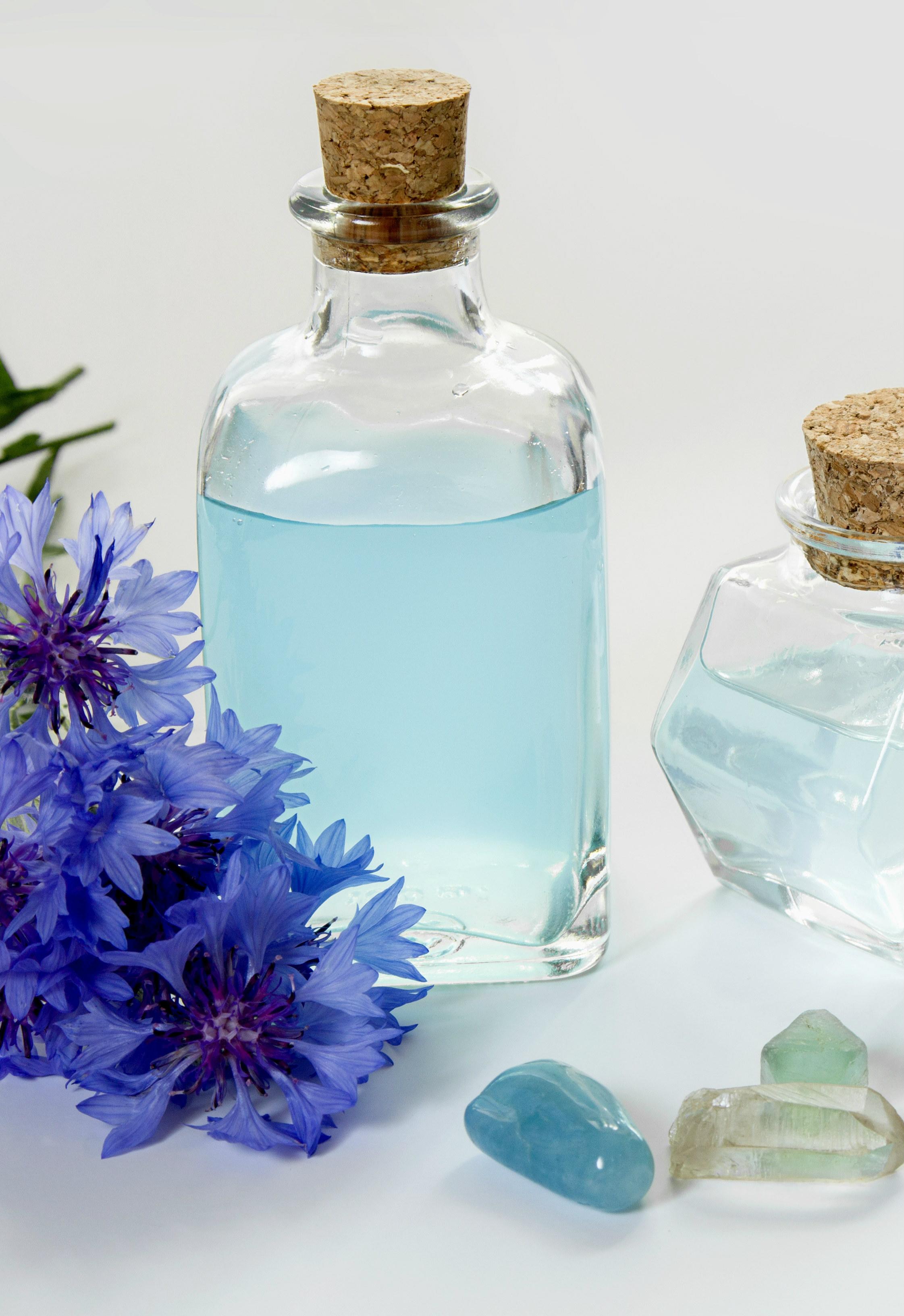 bienfaits des eaux florales bleuet