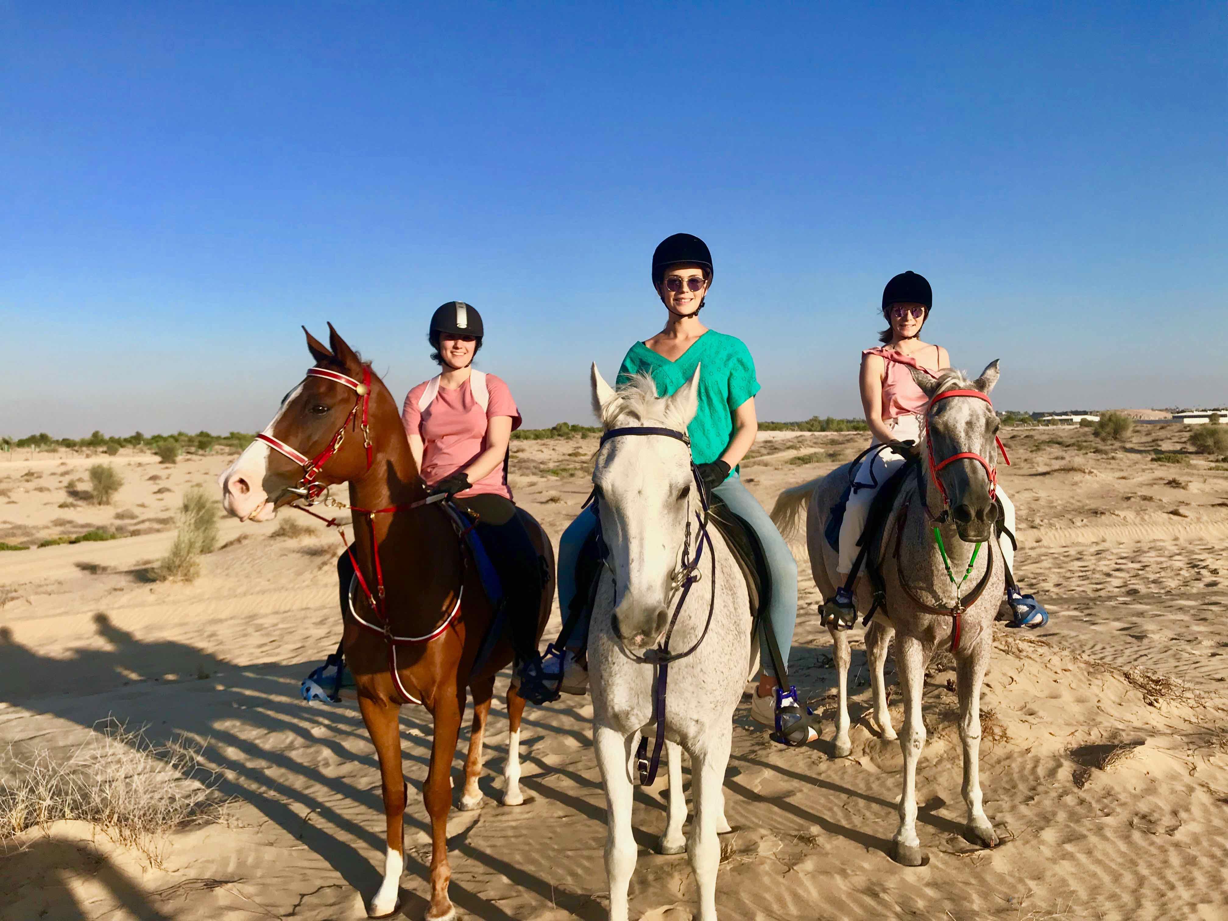 activités à dubai monter à cheval