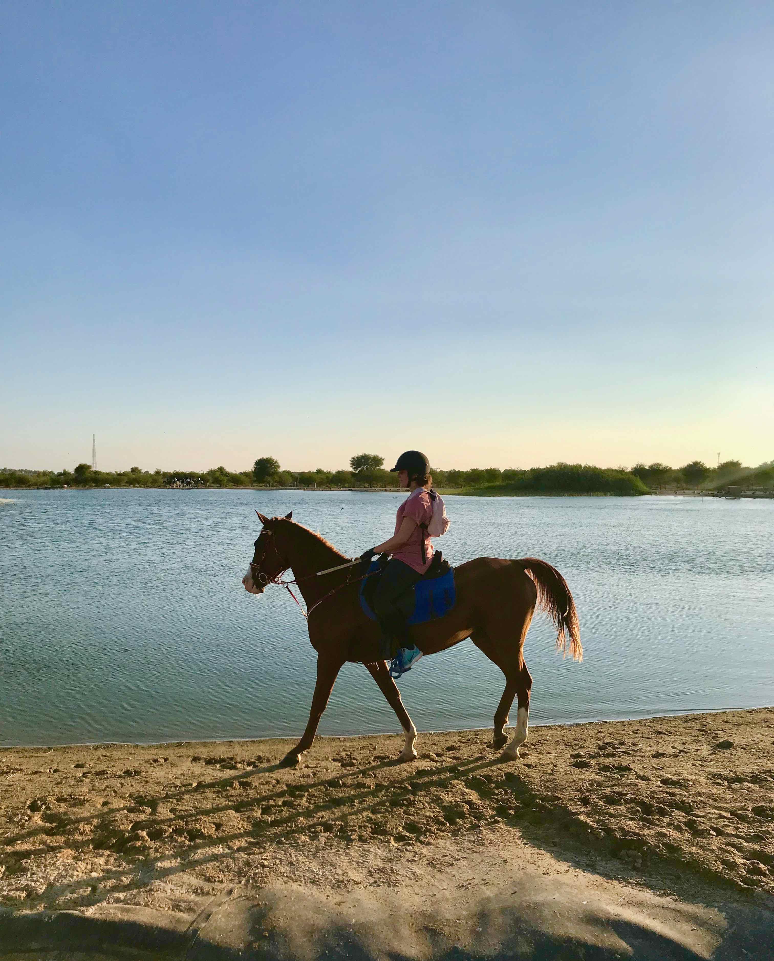 monter à cheval à dubai