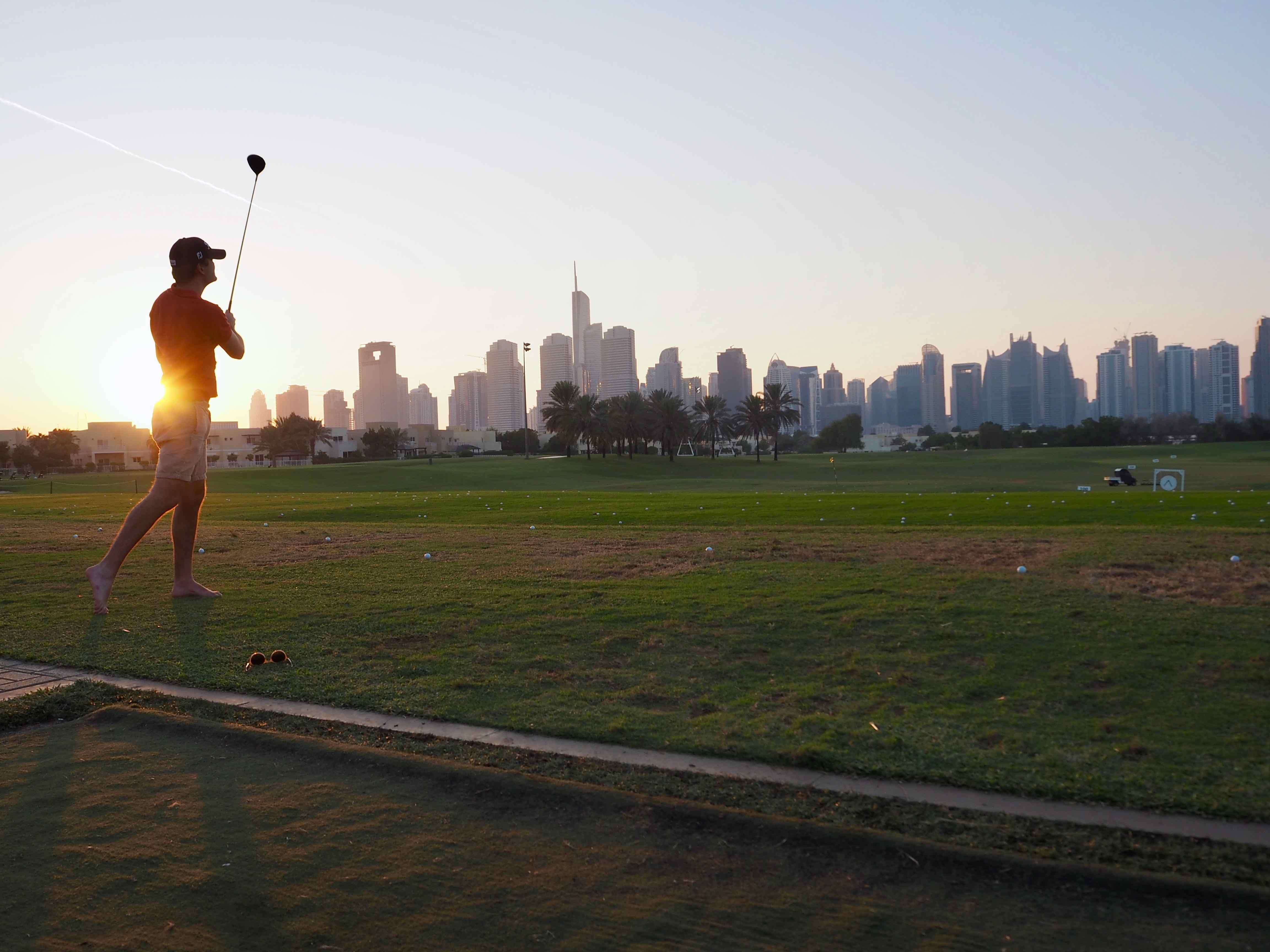activités à dubai golf