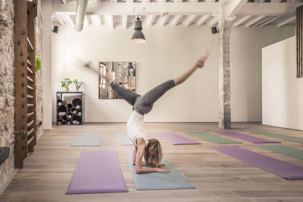 yoga barcelone the garage