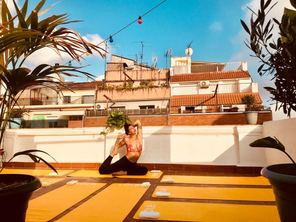 cours privé yoga barcelone