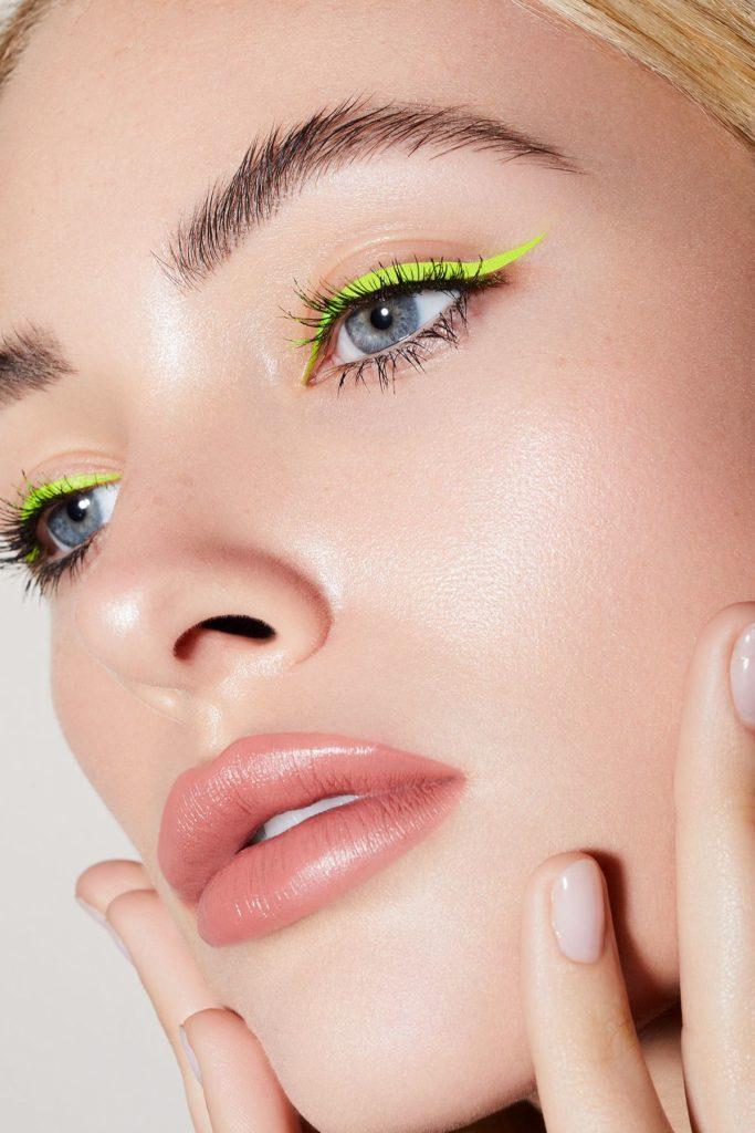 maquillage néon beauté