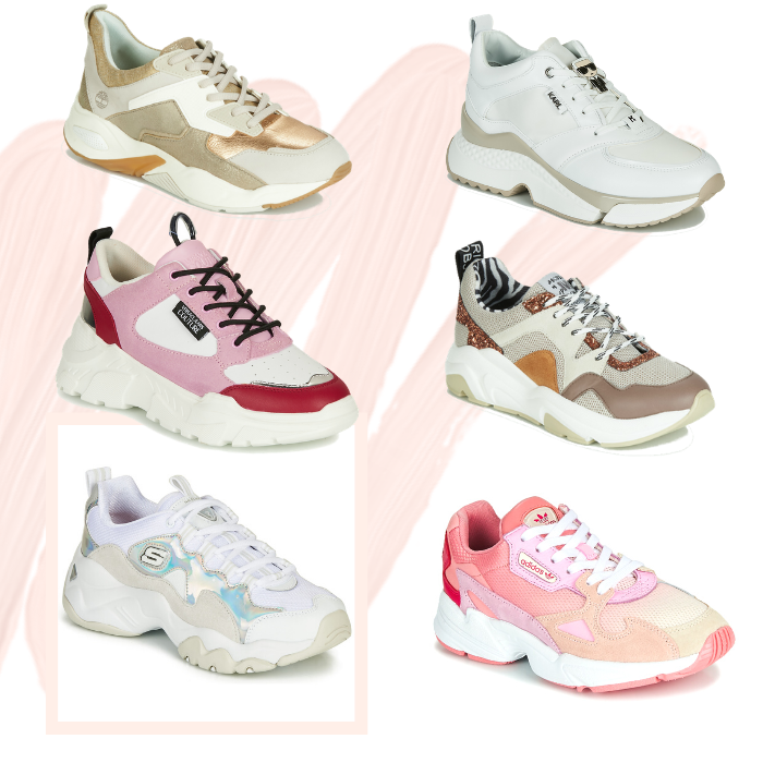 tendance chaussures 2020 dad shoes
