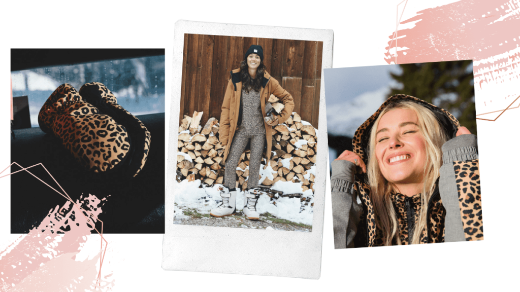 tendance ski 2020 léopard