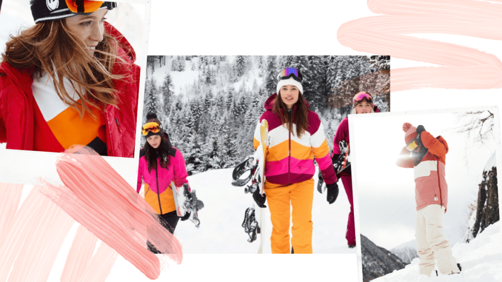 tendance ski 2020 color block