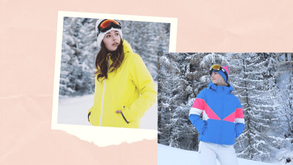 tendance ski 2020 fluo